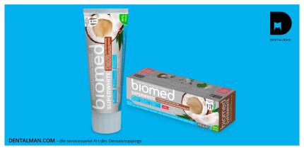 Jetzt bei dentalman.com: Kokosöl zur schonenden Zahnaufhellung