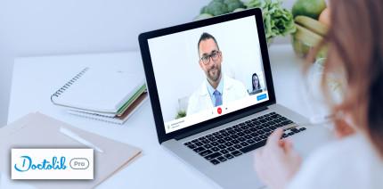 Doctolib bietet ab sofort kostenlose Videosprechstunde an
