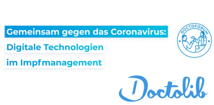 """,,Gemeinsam gegen Corona: Digitale Technologien im Impfmanagement"""""""