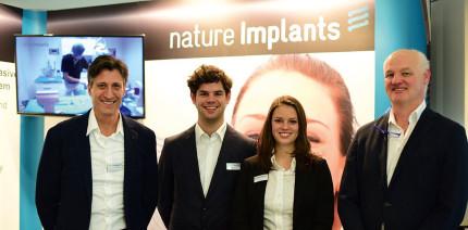 nature Implants auf den Dentalmessen 2018