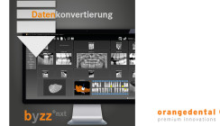 Datenkonvertierung: Jetzt neu bei orangedental