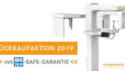 orangedental Rückkaufaktion 2019 mit IDS-SAFE-GARANTIE