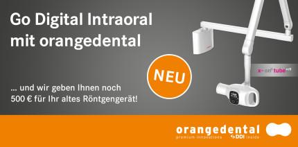 Go Digital Intraoral: orangedental bietet zwei Digitalpakete