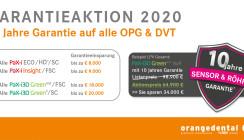 orangedental garantiert Top-Qualität für 10 Jahre