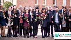 praxisHochschule feiert Examensfeier des Modellstudiengangs Pflege (B. Sc.)