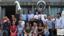 10 priti years: Zirkon-Feuerwerk bei pritidenta®