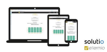 eTermio vereinfacht deutlich die Online-Terminvergabe mit Solutio Charly