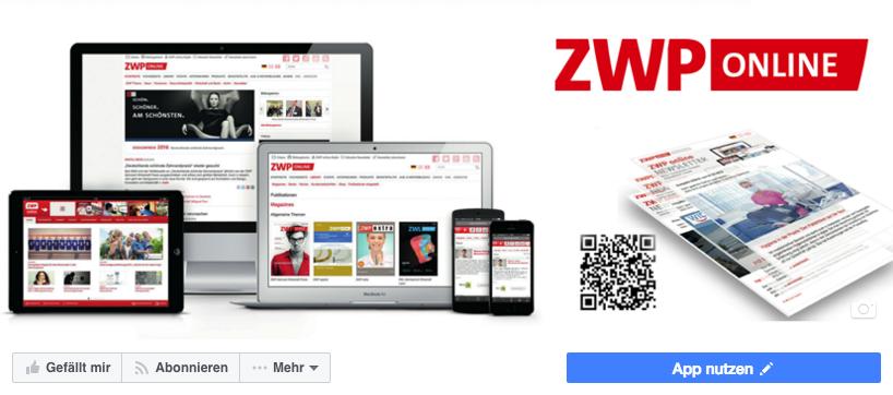 ZWP online auf Facebook
