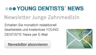 Newsletteranmeldung Young dentists news