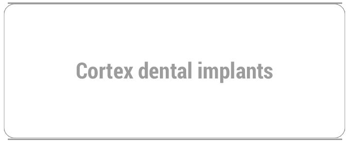 Cortex dental implants