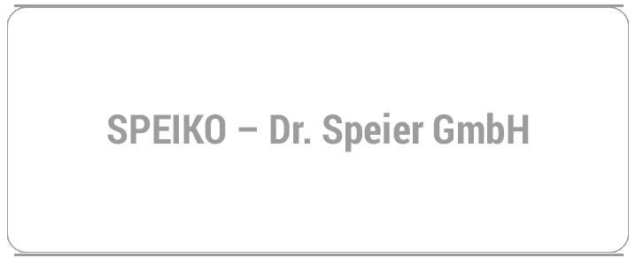 SPEIKO - Dr. Speier GmbH