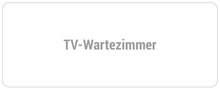 TV-Wartezimmer