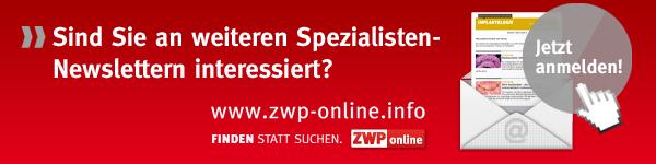 ZWP online Spezialisten-Newsletter
