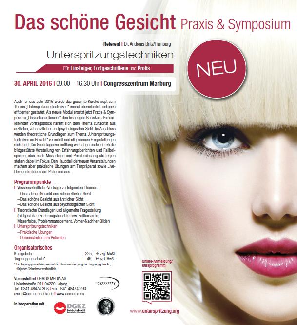 Praxis & Symposium – Das schöne Gesicht