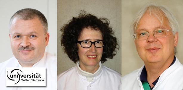 Dr. <b>Claudia Barthel-Zimmer</b> und Prof. Dr. Jochen Jackowski. - uni-witten-empfehlung-zahnarzt