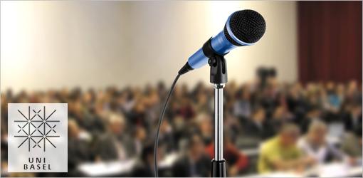 Science Slam der Universität Basel: Teilnehmer/innen gesucht