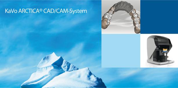 KaVo ARCTICA – die CAD/CAM-Lösung mit System
