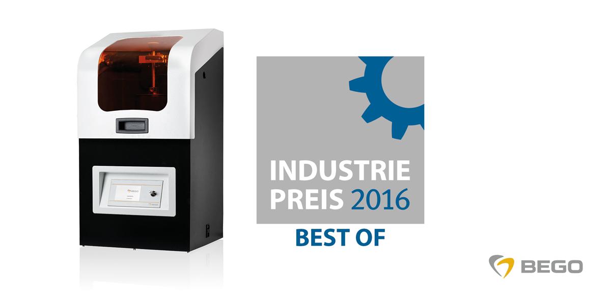 """3-D-Drucker Varseo erneut """"Best Of"""" INDUSTRIEPREIS Lösung"""