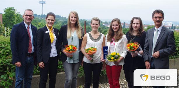 BEGO unterstützt Nachwuchs beim Regensburger Förderpreis der Zahntechnik 2015