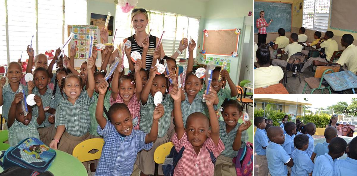 Bella Risa: Reise in die Karibik – mit einem Koffer voll Kinderzahnbürsten!