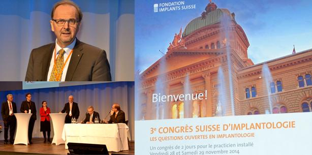 Bern begrüsste 650 Teilnehmer zum 3. Schweizer Implantatkongress