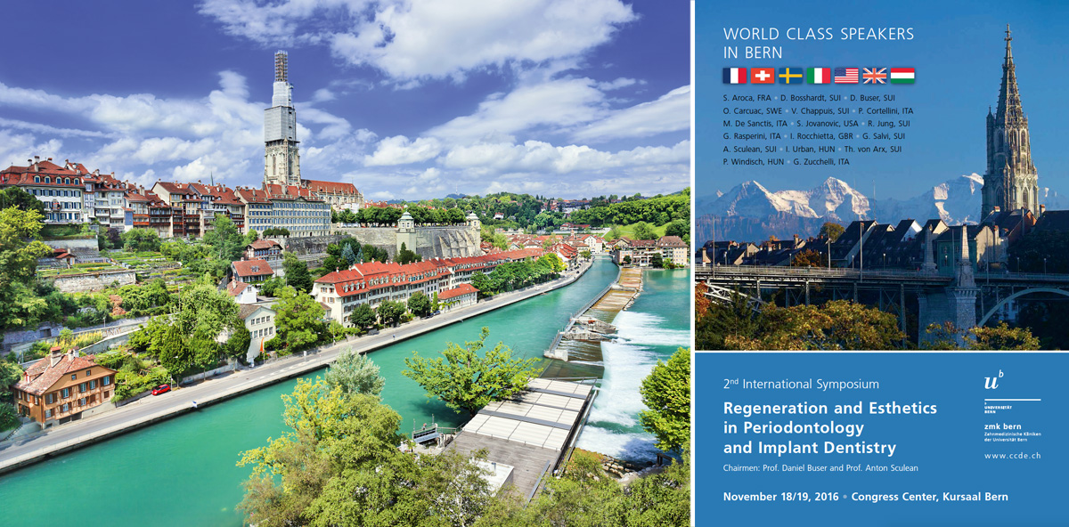 Regeneration und Ästhetik – Internationales Symposium in Bern
