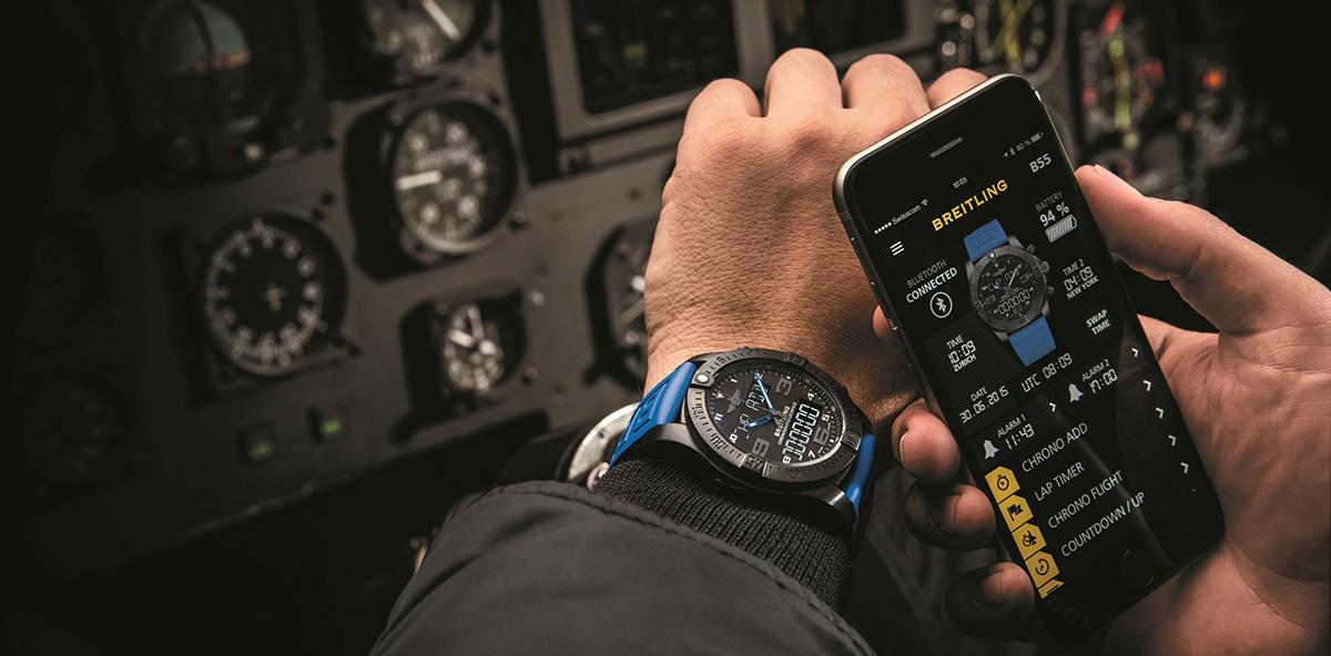 Breitling erfindet die Smartwatch neu