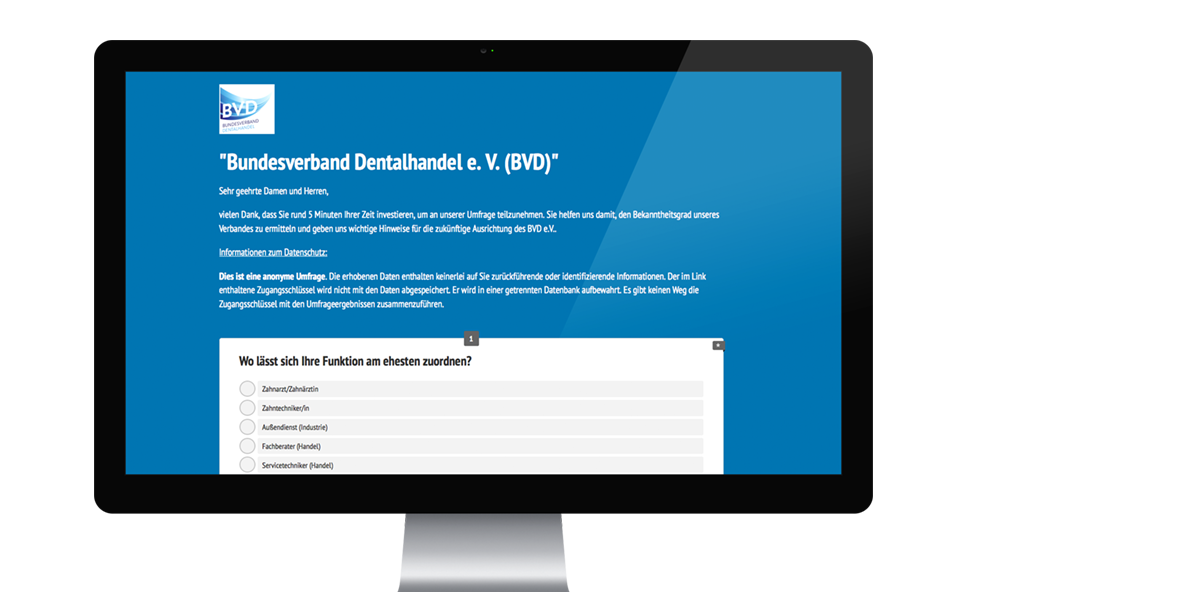 In 5 Minuten Zukunft gestalten – Umfrage des BVD e.V.