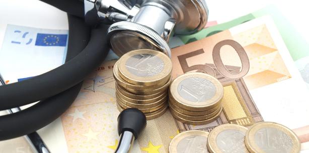 Gesundheitsausgaben steigen auf 287 Mrd. Euro