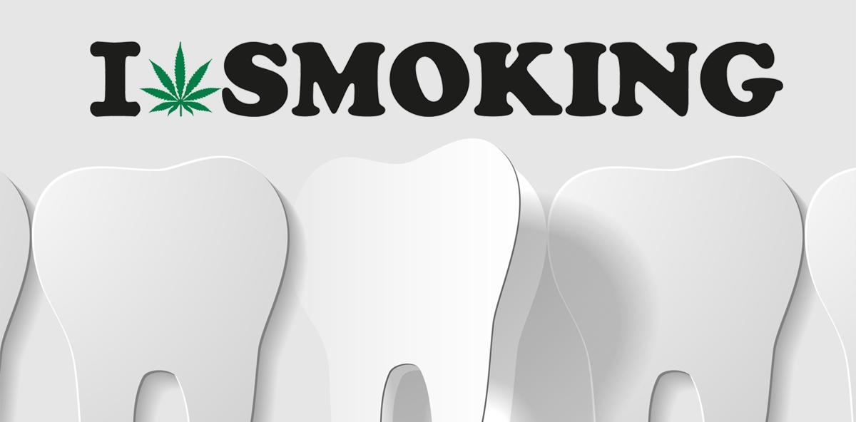 Geschädigtes Zahnfleisch: Kiffen killt die Zähne