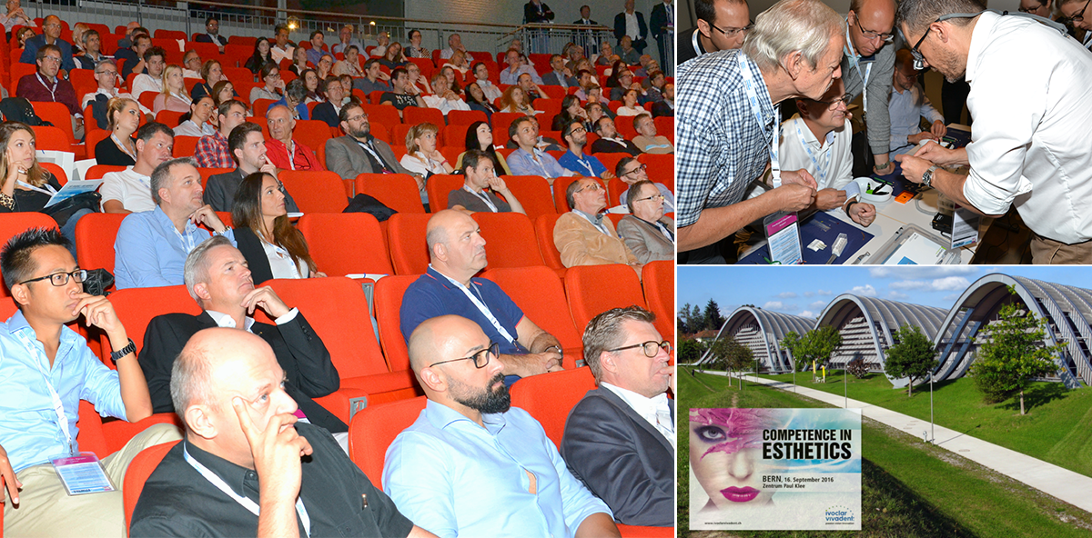 """Ivoclar Vivadent vermittelt """"Competence in Esthetics"""" in Bern"""