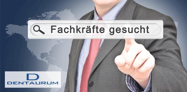 Dentaurum sucht Verstärkung für Schweizer Außendienst