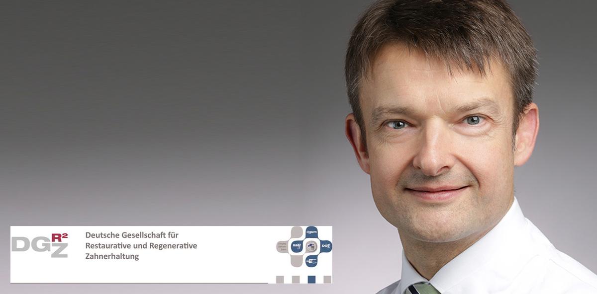 Prof. Dr. Wolfgang Buchalla steht als neuer Präsident an der Spitze der DGR²Z