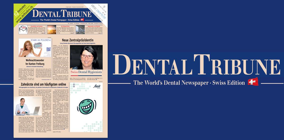 Die Dental Tribune Swiss Edition 12/2016 erschienen
