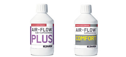 AIR-FLOW® Pulver PLUS und AIR-FLOW® Classic Comfort