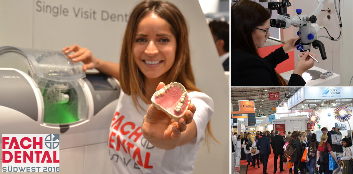 FACHDENTAL Südwest 2016: Immer up to date