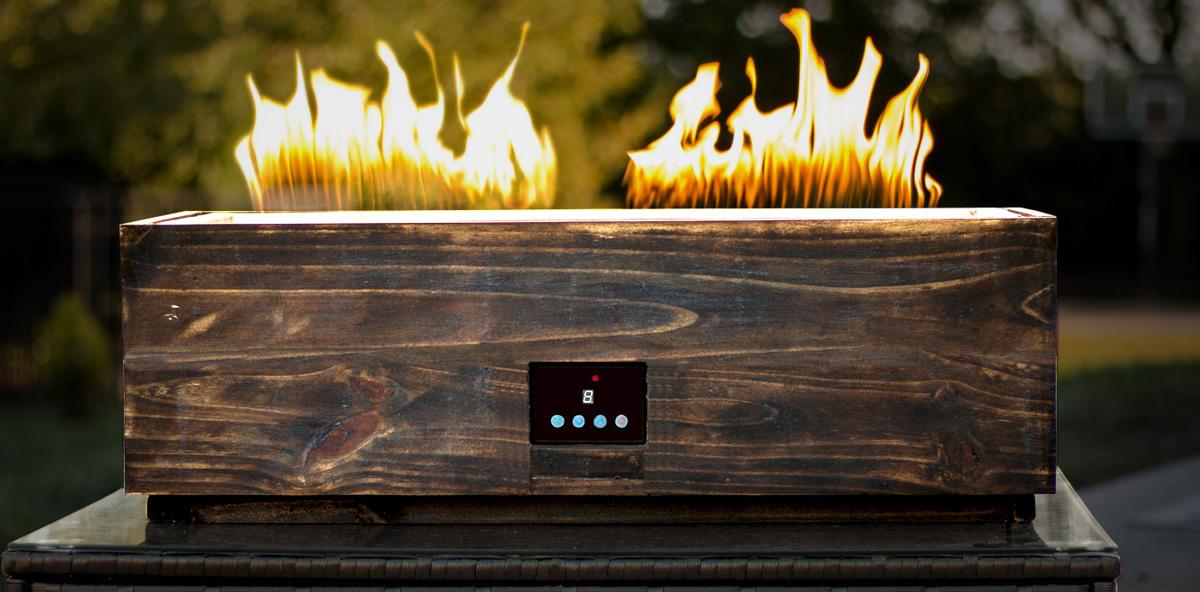 Der Fire Pit – Lautsprecher und Feuerstelle in einem