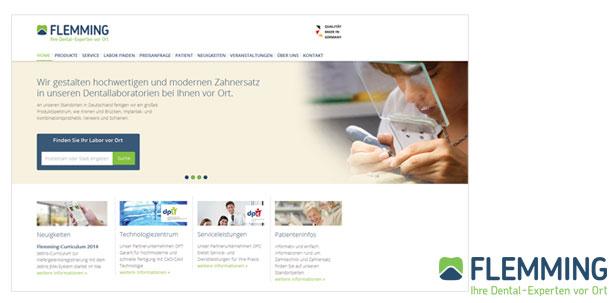 Flemming Dental steht für Qualität, Technologie und Service