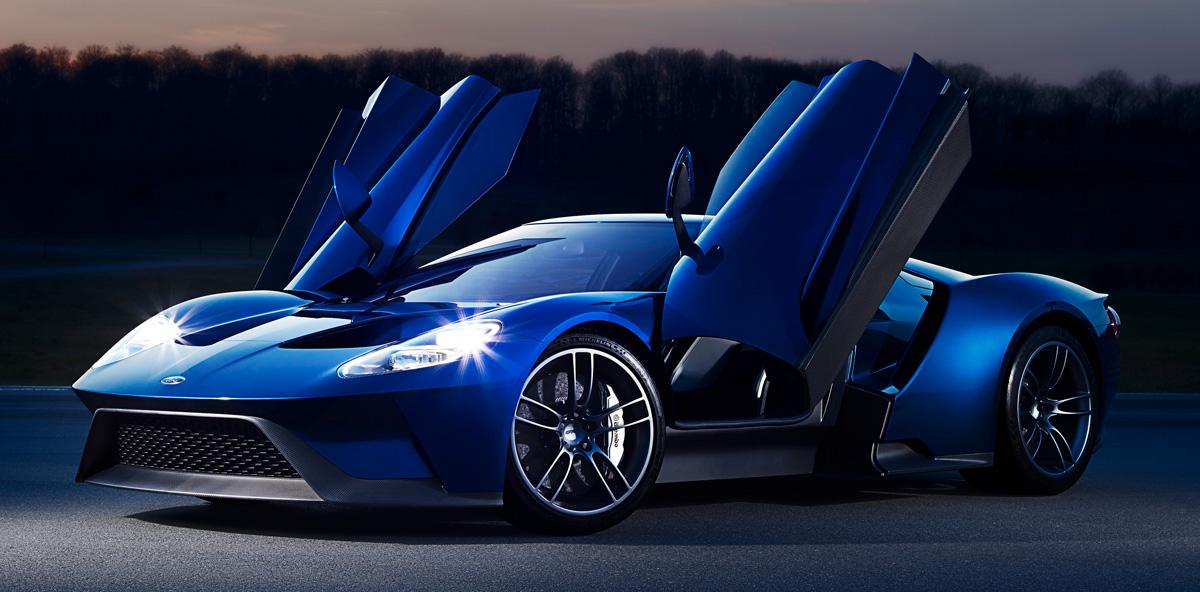 Neuer Ford GT erreicht eine Höchstgeschwindigkeit von 347 km/h