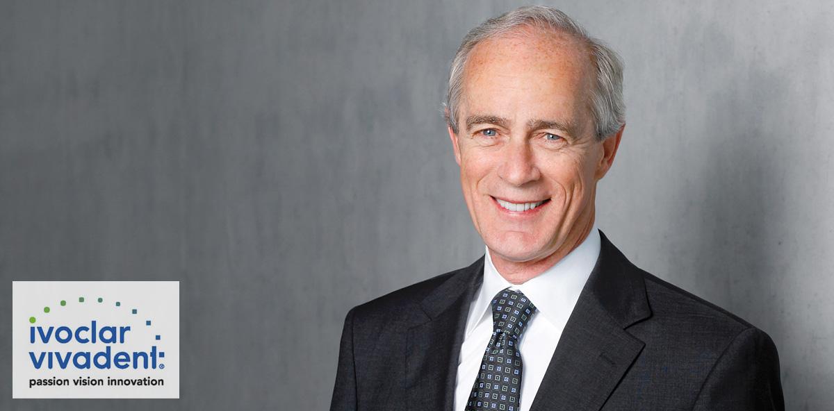 Gehört zu den Top Ten der Dentalindustrie: Robert Ganley