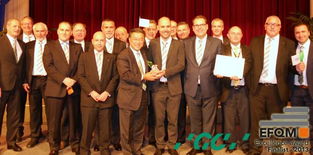 Qualität als Maßstab: GC Europe erhält Anerkennung von ganz oben