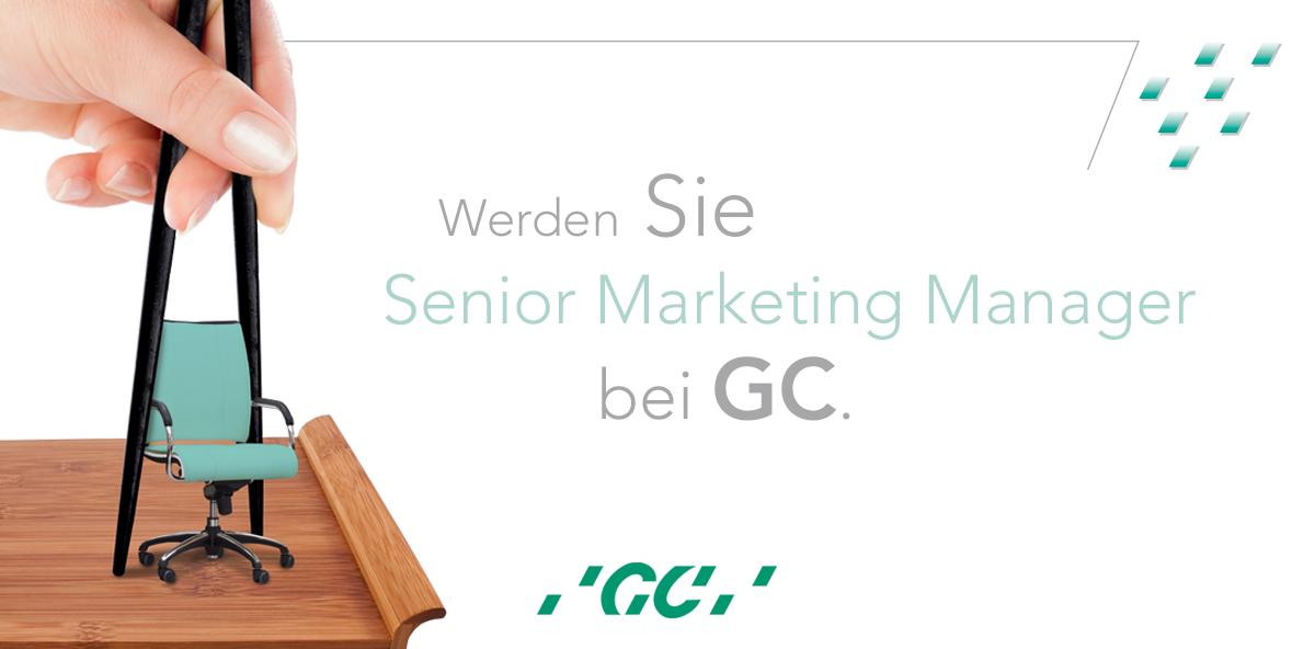 GC sucht Senior Marketing Manager für den deutschen Markt