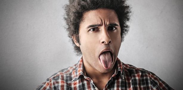 Große Zunge als Risikofaktor