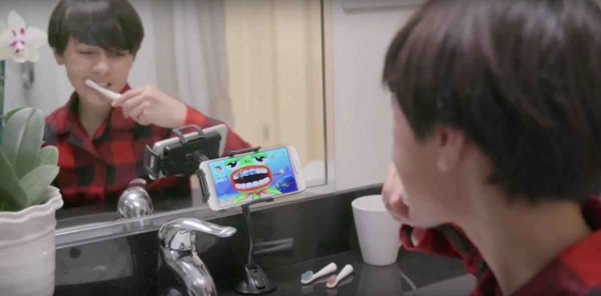 Videospiel-Zahnbürste: Erfinder der Grush gewinnen 1 Mio. US-Dollar