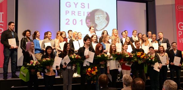 15. Gysi-Preis verliehen