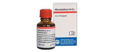 Hämostatikum Al-Cu