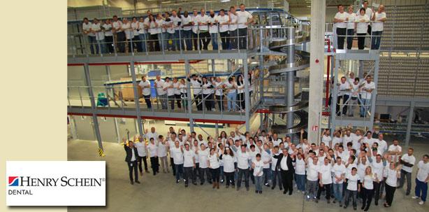 HENRY SCHEIN eröffnet neues Logistikzentrum