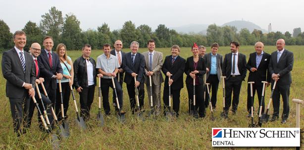 Henry Schein freut sich auf das neue moderne Logistikzentrum
