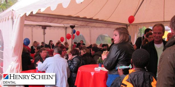 4.000 Gäste besuchten die Frühlingsfeste der Henry Schein Dental Depots