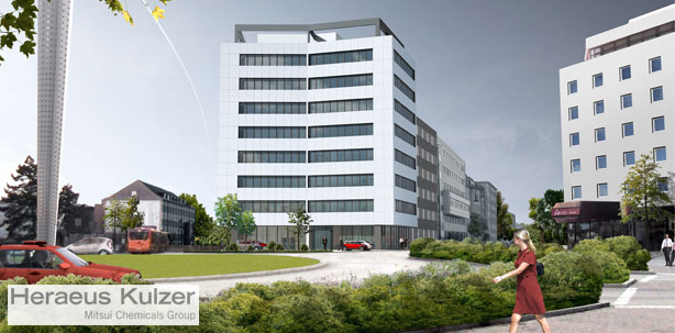 Heraeus Kulzer Zentrale an neuem Standort in Hanau